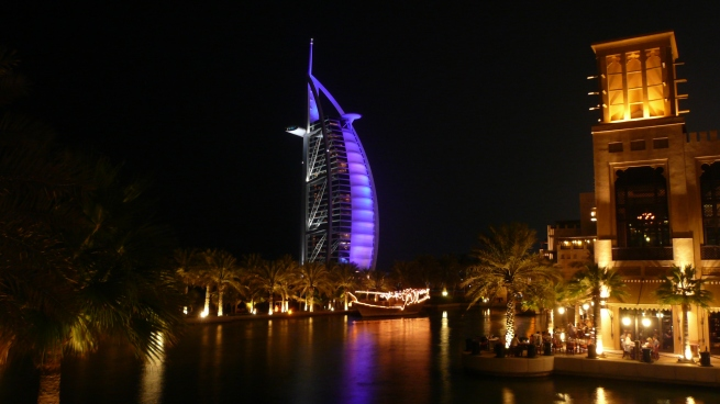 Jodie's fantastic photo of Al Burj